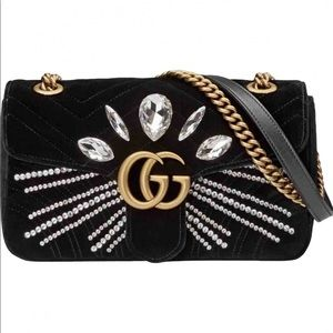 Gucci GG velvet marmont - limited edition NWOT